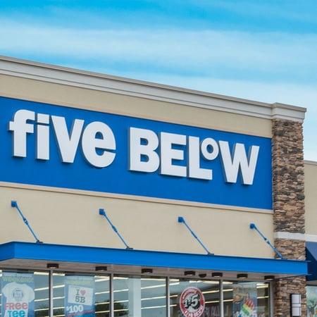 Five Below Store Front - sample