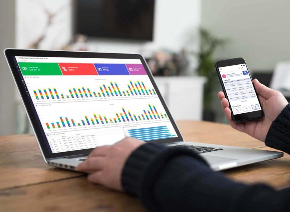 20/20 LP Data Analytics Dashboard