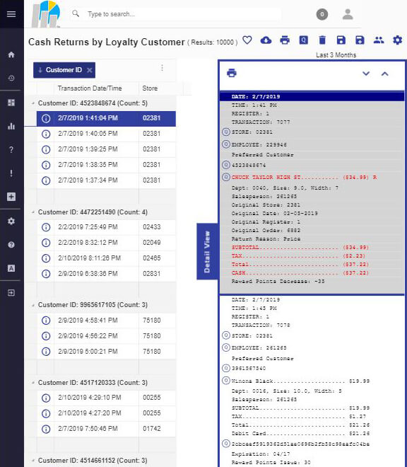 Query iPad w Receipt View