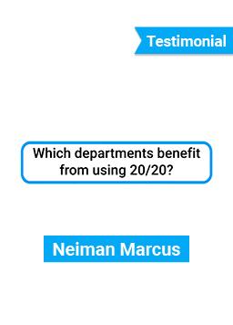 Testimonial - Neiman Marcus