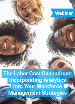 Webinar - The Labor Cost Conundrum